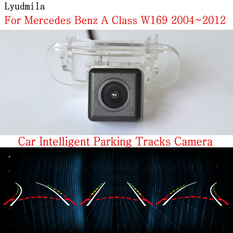 Lyudmila Car Intelligent Parking Tracks Camera FOR <font><b>Mercedes</b></font> Benz A Class <font><b>W169</b></font> A160 A180 A200 A150 <font><b>A170</b></font> Car Rear View Camera image