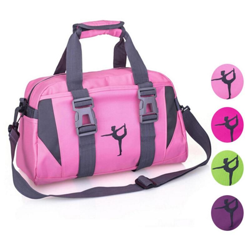 Prix pour Nylon imperméable Sport gym sac à dos épaule fitness sacs En Plein Air Femmes De Yoga Voyage Duffle sacs à main 20-35l