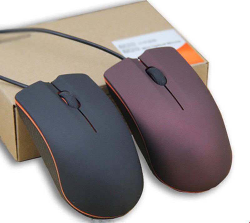 2017 1200DPI 2 Buttons Wired Mouse Optical Mouse for PC Laptop Computer office work ...