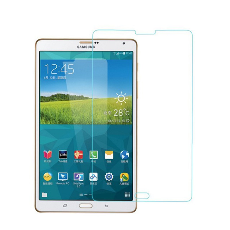 Clear Tempered Glass For Samsung Galaxy Tab S T700 T705 8.4 Inch Cover Explosion-Proof Toughened Screen Protective Glass Film