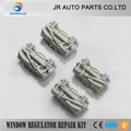 JIERUI X4 PLASTIC CLIPS FOR PEUGEOT 607 WINDOW REGULATOR REPAIR KIT REAR LEFT AND RIGHT 2000 to 2010