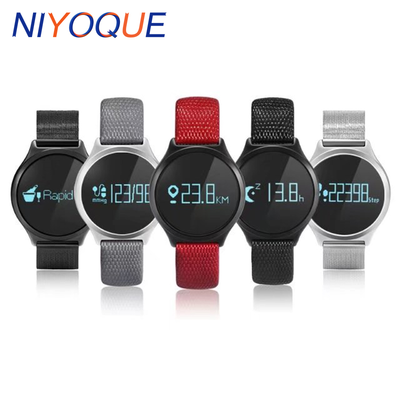 NIYOQUE M7 Bluetooth Smart Band Sports Smart Bracelet Blood Pressure Smart Wristband Heart Rate Sleep