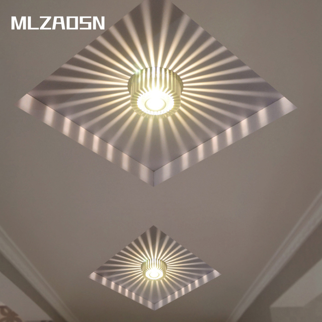 Aliexpress buy ceiling lights corridor open set lights lamp ceiling lights corridor open set lights lamp 3w5w colourful entrance foyer home lamp led aloadofball Choice Image