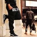 ТОПЫ Бесплатная доставка марка плюс размер 4xl 5XL 6xl XXXL hip hop хип-хоп мода брюки толстовки хип-хоп штаны гарем танец свободные