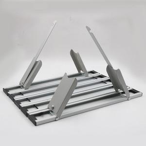 Image 4 - Mesa portátil dobrável de liga de alumínio, móveis para acampamento, caminhadas, mesa, piquenique ao ar livre