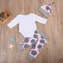 Kids Baby Girls Clothes Set 4pcs