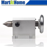 CNC Indexer Tailstock 80mm with Thimble for Rotary Axis, A Axis, 4th Axis, CNC Router Engraver Milling Machine #SM404 @SD