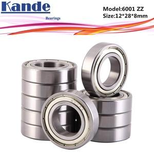 6000ZZ Bearing 10pcs ABEC-5 High quality 6000 ZZ Single Row Deep Groove ball bearing 6000-2Z 10x26x8mm