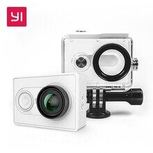 YI 1080 P Action Caméra Haute-définition 16.0MP 155 Degrés Angle 3D Réduction Du Bruit International Édition Blanc et Noir