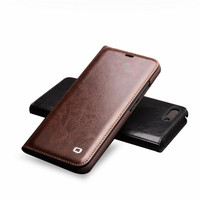 Luxury Classic Shell Para Case For Huawei Honor V10 V9 Genuine Cowhide Leather Phone Cases For Huawei Honor 10 9 Honor9 Honor10