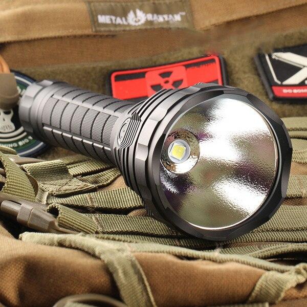 5 Modes L6 XHP70 3800LM Date En Alliage D'aluminium Étanche Super Bright Long Range LED lampe de Poche Convoi Pour Camping Randonnée Pêche