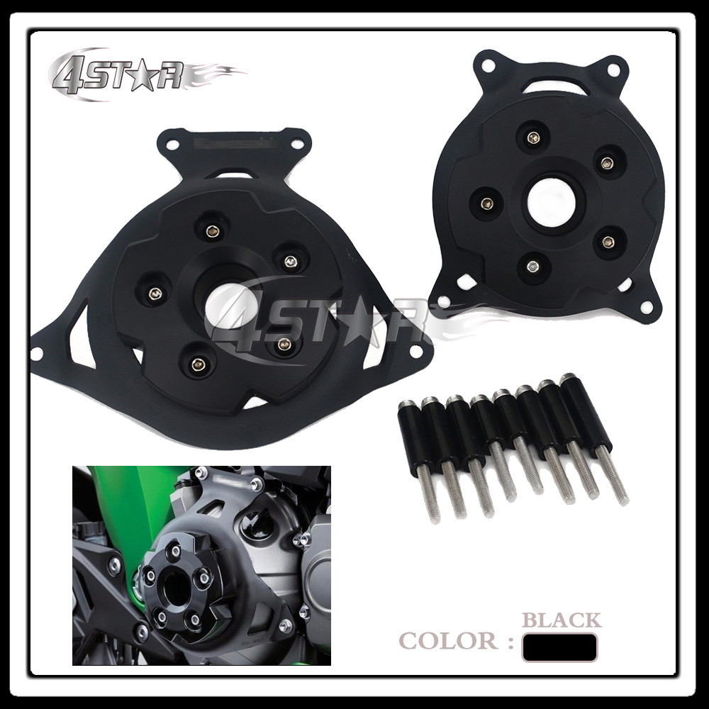 CNC Motorcycle Engine Stator Cover Engine Protective Side Protector For Z800 Z 800 2013 2014 2015 201613 14 15 16 cnc blue motorcycle engine stator cover protective protector side for yamaha mt 09 fz 09 mt09 fz09 2014 2015 2016 14 15 16