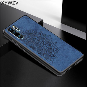 Image 4 - Huawei P30 Pro a prueba de golpes suave TPU paño de silicona textura dura PC funda de teléfono para Huawei P30 Pro contraportada Huawei p30 Pro Fundas