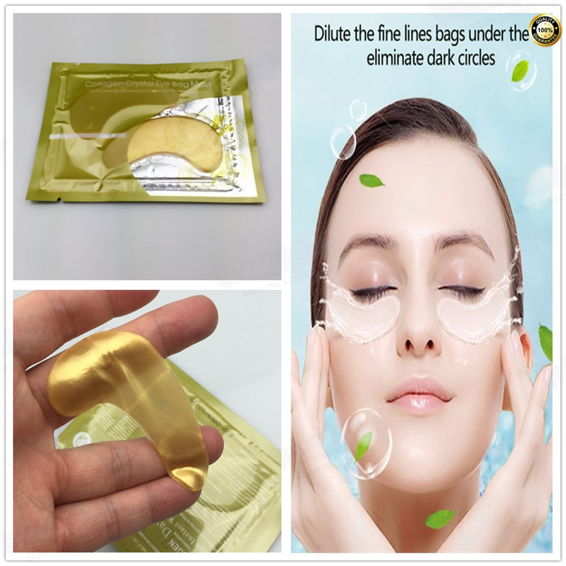 Honey Collagen Eye Patch 2pcs Face Care Remove Black Finelines Moisturizing Firming Eye Bags Repair Eye Mask Sleep Masks