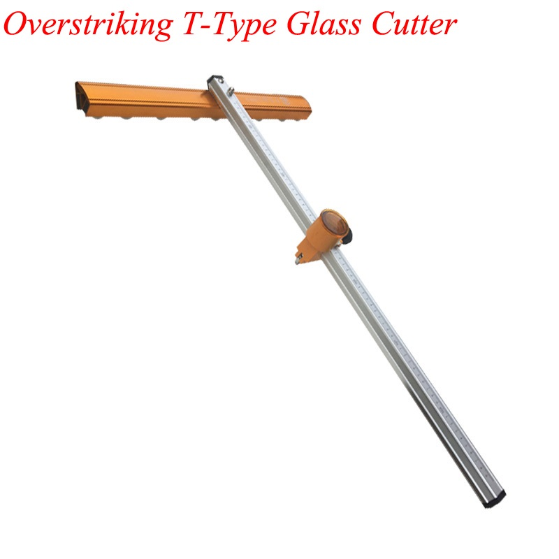 Glass Push Knife T Type Bold Heavy Cutter Head Thick Glass High Precision Roller Type Drag Knife Cutting Tile Cutter Head T-XING