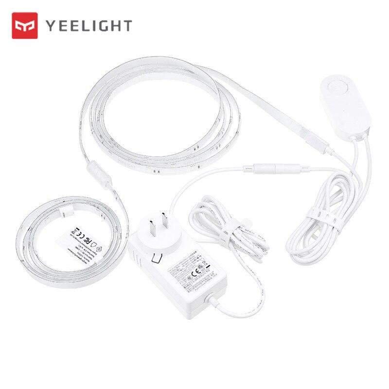 XIAOMI Yeelight YLDD04YL 2 M Smart LED Streifen Licht EU Stecker Kit oder 1 M Streifen Licht Erweiterung Plus DC24V