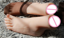 top quality foot fetish toys, adult toys, solid silicone. adult foot skin realistic vaginal false feet