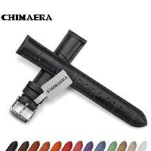 CHIMAERA 14mm 16mm Watchband Genuine leather watch band watch strap For Breitling Tissot Omega Seiko