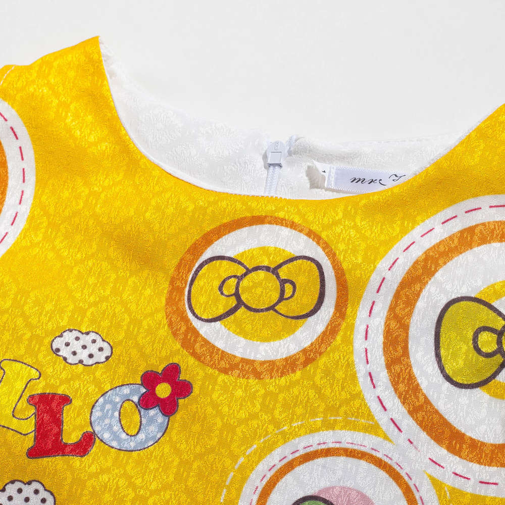 e46f416b83c7 3 4 5 6 7 8 9 10 11 12 Years Kids Girls Dress Hello Kitty Summer ...