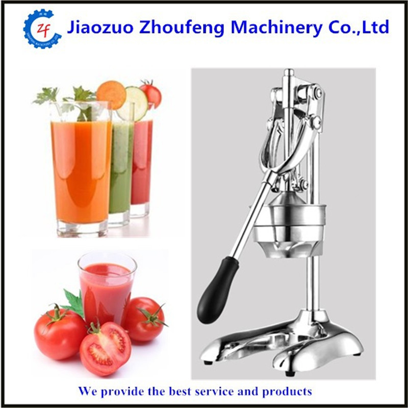 Stainless steel citrus fruits squeezer orange lemon manual juice extractor lemon fruit pressing machine hand press juicer home whole slow juicer 300w 75 cm fruits low speed juice extractor juicers fruit machines
