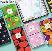 Cute Fruit And Rabbit Pattern Pocket DIY Travelling Journal Agenda 60 Pages 20 2 11 5cm