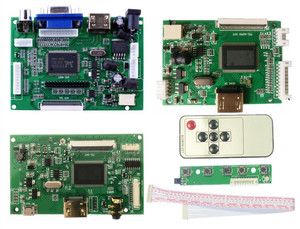 LCD TTL LVDS Controller Board HDMI VGA 2AV 50 PIN for 7300101463 E242868 Support Automatically Raspberry Pi Driver Board(China)