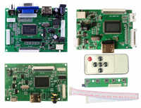 Placa controladora LCD TTL LVDS, HDMI VGA 2AV 50 PIN para AT070TN90 92 94 20000938-00, compatible con placa controladora Raspberry Pi automática