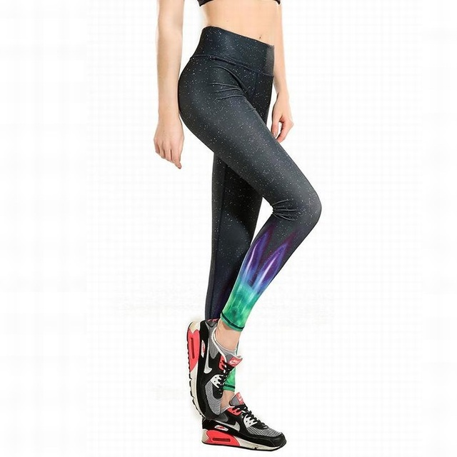 dd3a2ede7564 2016 Workout Running Tights New Sexy Training Women s Sports Yoga Pants  Leggings Elastic Gym Fitness Compression Trousers YG035