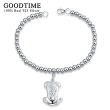 925 Silver Bracelets Classic Twelve Chinese Zodiac Signs Pendant Charm Bracelets Jewelry Kids/Lover/Friend Special Birthday Gift