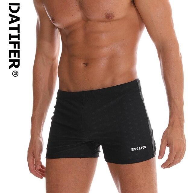 651560eecb475 Datifer Брендовые мужские плавки 2019 горячий дышащий плавательный костюм  мужские купальные костюмы мужские плавки Sunga Boxer Maillot De Bain