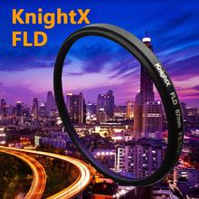 KnightX FLD infrared Filter for Canon Nikon Sony Pentax Olympus D3300 5D 6D 7D 52mm 55mm