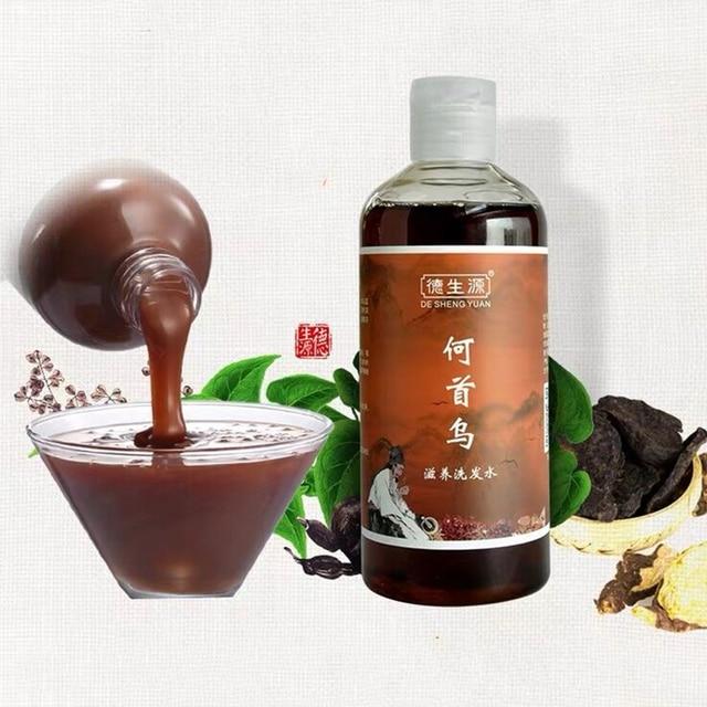 Ervas Anti Cabelo Cinzento Reparação Remoção Anti Shampoo Cabelo Branco & Morena Hidratante Cuidados Com Os Cabelos Shampoo Tratamento De Preto 280 ml