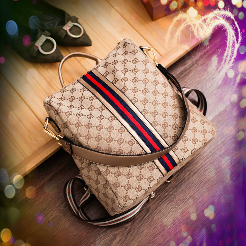 Fashion Women Backpack High Quality Youth Leather Backpacks for Teenage Female School Ba ...