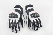 New 2 Colors 100 Genuine Leather Dain Motorcycle Gloves Goatskin Leather Touch Screen Men Women Moto