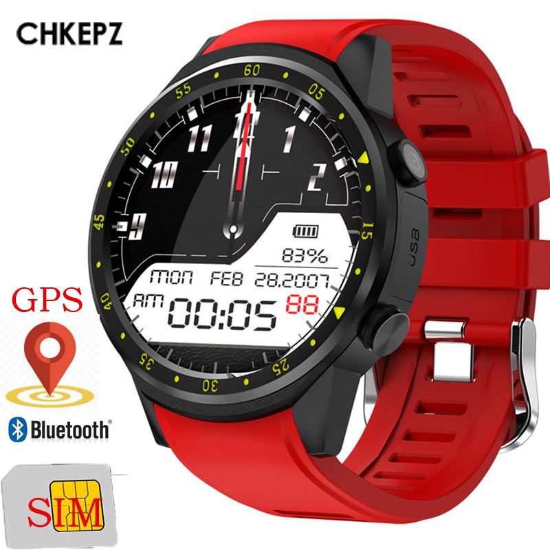 CHKEPZ F1 GPS Smart Watch Men With SIM Card Camera Women Smartwatches Sport phone connected watch