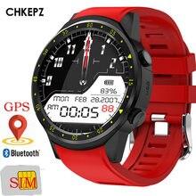 Chkepz F1 gps Смарт-часы Для мужчин с мобильными микрoуправлением слушения Камера Для женщин Смарт-часы Спорт телефон часы связанные при помощи Android-часы для iPhone iOS
