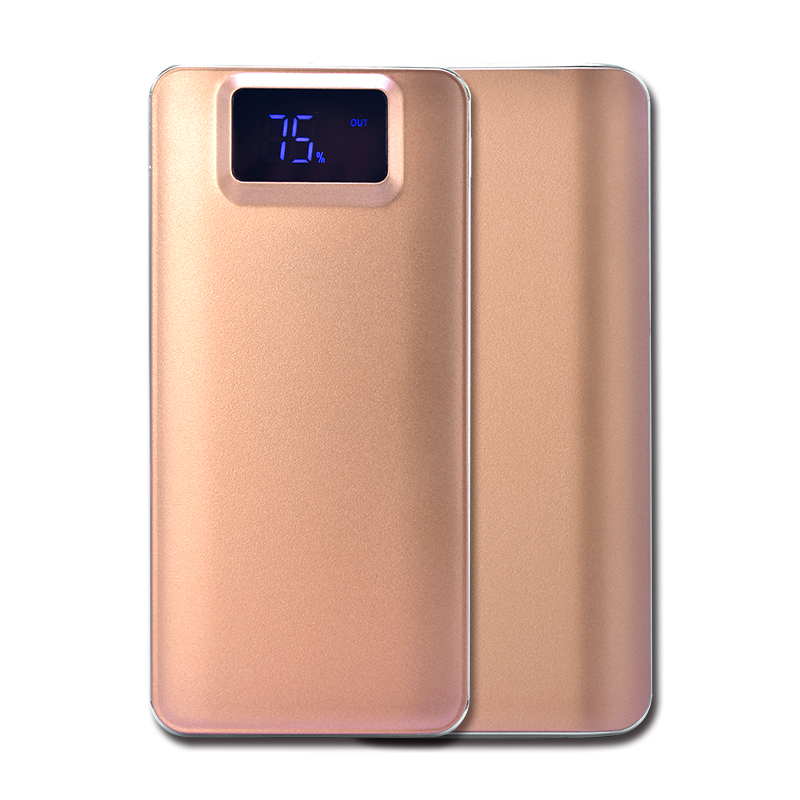 2018 New Arrivals 20000mAh Power Bank External Battery Quick Charge Dual USB LCD Powerbank Portable For Iphone 8 X