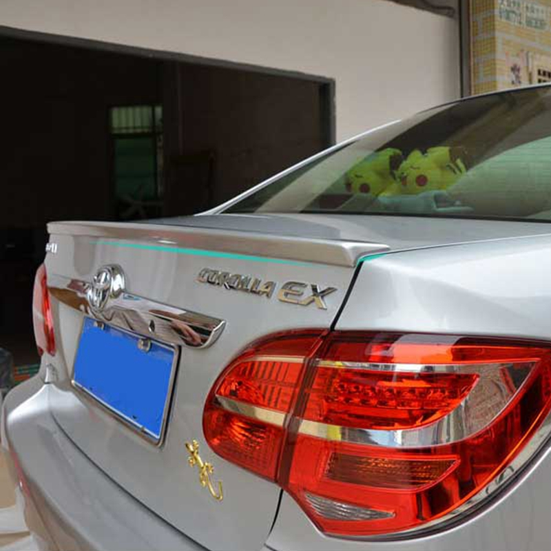 For <font><b>Toyota</b></font> <font><b>Corolla</b></font> <font><b>Spoiler</b></font> ABS Material Car Rear Wing Primer Color <font><b>Corolla</b></font> Rear <font><b>Spoiler</b></font> For <font><b>Toyota</b></font> <font><b>Corolla</b></font> EX <font><b>Spoiler</b></font> 2006-<font><b>2010</b></font> image
