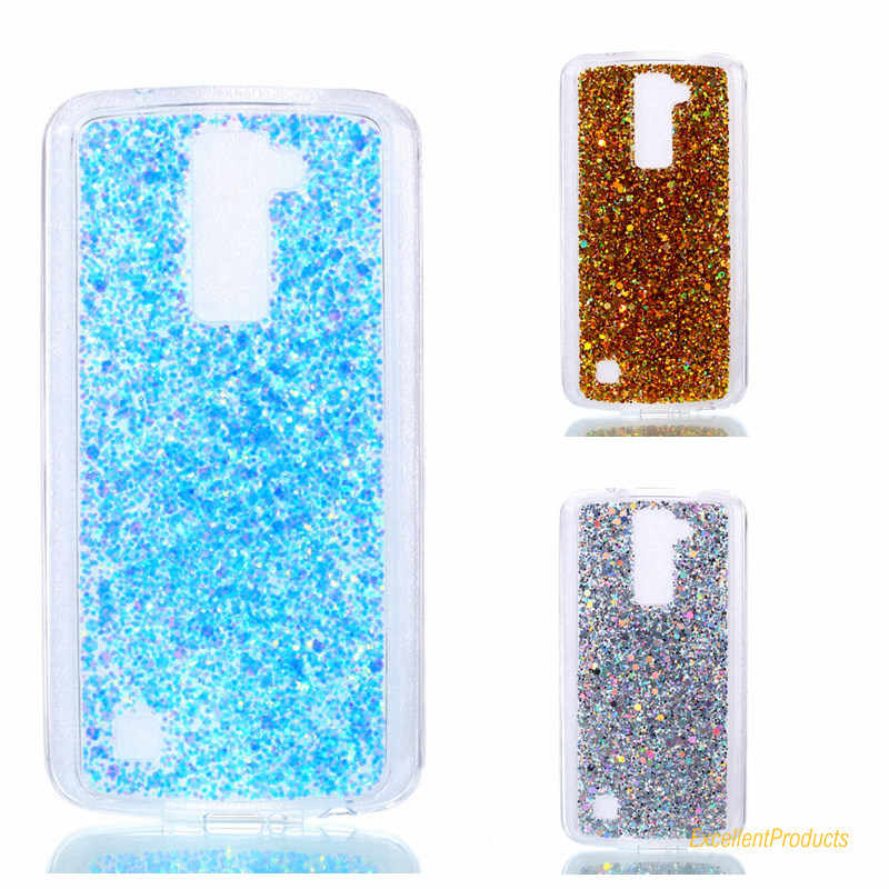 2017 2 In 1 New Fashion Design Gleam Blink Women Phone Case Cover For LG  K10 Back Shell Para Fundas