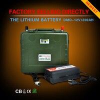 Новая концепция 12 вольт power bank литиевая батарея 12 В 200ah bms для резервного питания Бесплатная доставка