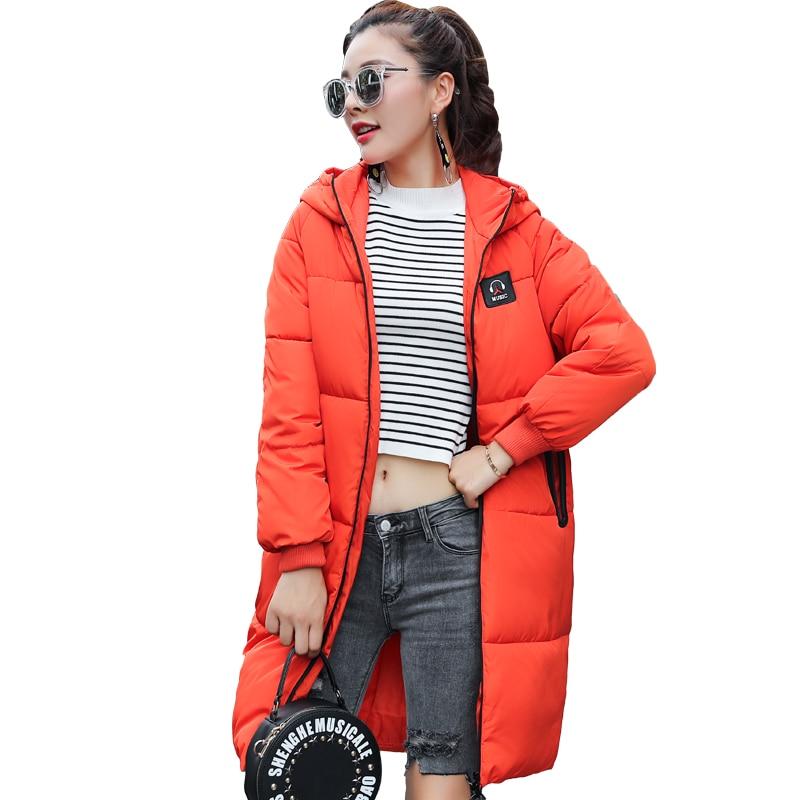 KUYOMENS Thick 2018 Winter Jacket Coat Women Down Parka Coat Plus Size  Female Long Warm Hooded Coat Snow Wear Wadded Padded Lady df4dcd2c6f81