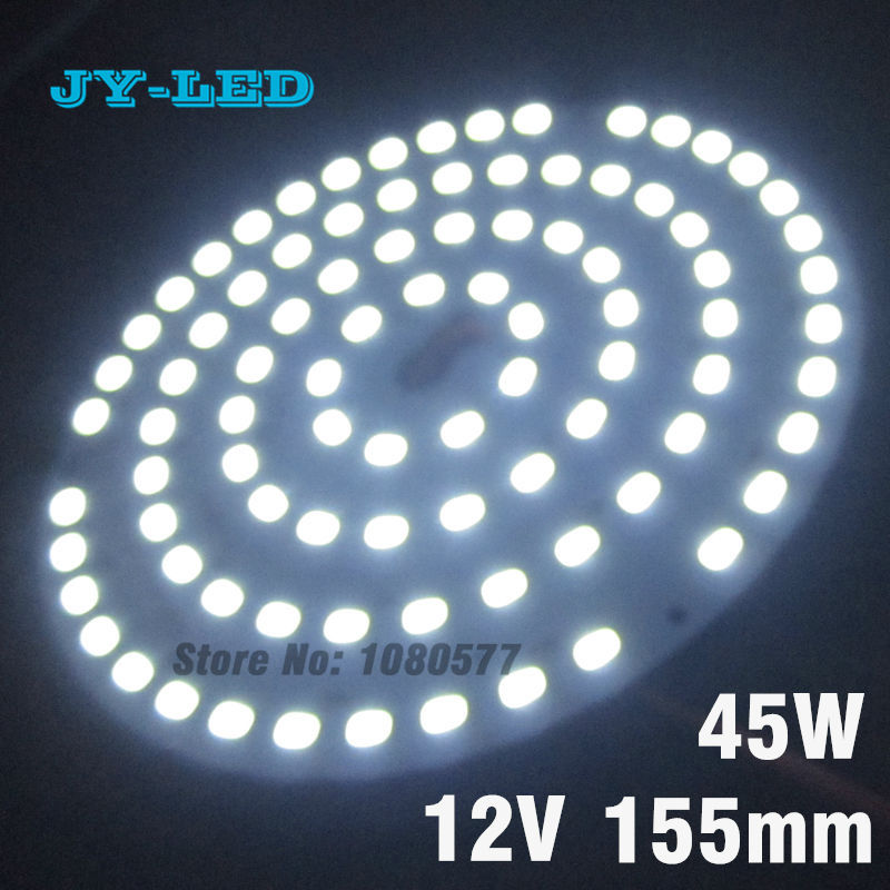 30W 155mm Input DC 12V High Power LED PCB, Needn't Driver SMD5730 Super Brightness Aluminum Lamp plate 30w 155mm dc12v led pcb input dc 12v needn t driver smd5730 super brightness aluminum lamp plate