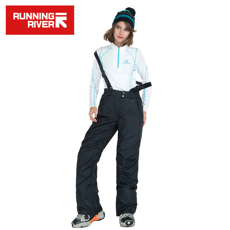 RUNNING RIVER Brand New Arrival Women Snowboard Pants Warm Ski Pants Waterproof Ice Skating Pant Women