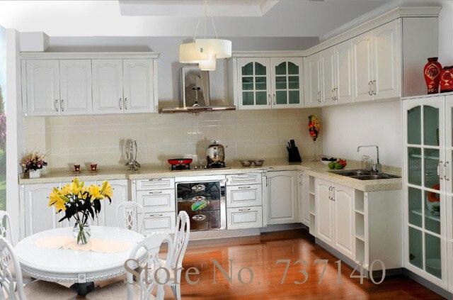 Antiguo Gabinete de cocina lacado blanco China muebles agente en ...