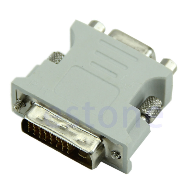 Hot Selling 15 Pin VGA Female to DVI-D Male Adapter Converter LCD Dls HOmeful