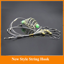 Hot Sale!!! High quality Capture off ability fishing hook 1PCS string hook explosion hook fishing lure tackle box