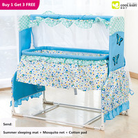 Baby Shaker Cradle Baby Bed Game Bed Newborn Sleeping Basket Hammock Swing Bed Mosquito Net Bb