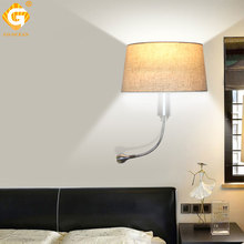 E27 LED Wall Light Indoor Lamps Bedroom Bedside Hotel Living Room Lights Night Lighting Fixture Modern Loft Sconce