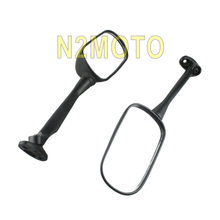 For Honda CBR250 CBR 250 1300S 2003-2012 Motorcycles Long Rear View Mirror Black Left Right Side Mirrors(China)