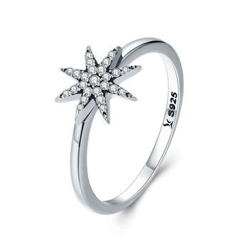 d86fbcd315b9 FLOLA moda anillo de cruz de forma X para mujer 2018 Zirconia cúbica anillo  infinito joyería de ...